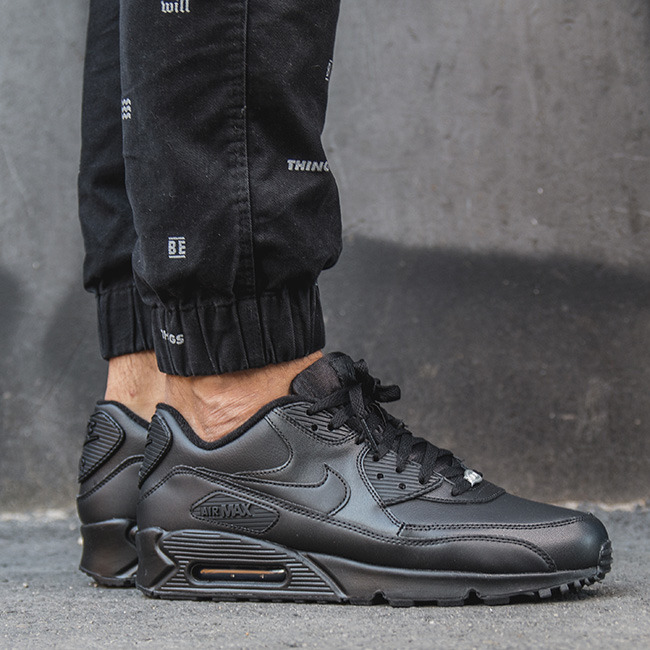 SNEAKER SHOES NIKE AIR MAX 90 LEATHER 302519 001 - Best shoes ...