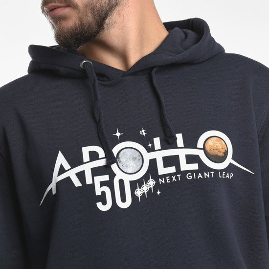 Alpha Industries Apollo Moon Landing 50 Patch Hoody 198350 07