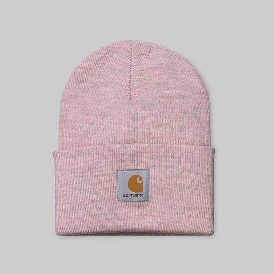 Carhartt Acrylic Watch Hat I020175 BLUSH HEATHER