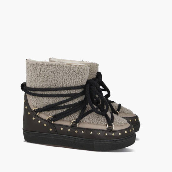 Inuikii Sneaker Curly Rock 70102-76 TAUPE shoes