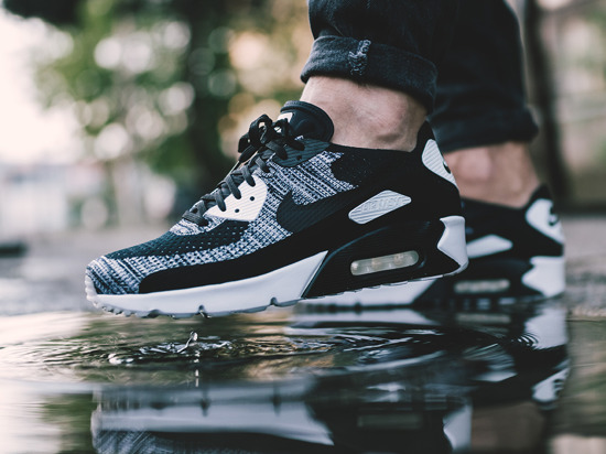 Men's Shoes sneakers Nike Air Max 90 Ultra 2.0 Flyknit 875943 001 ...
